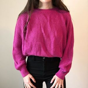 Vintage Pichet and Past Chunky Knit Sweater N